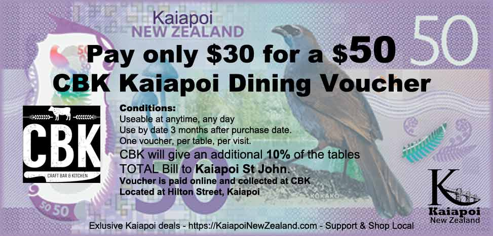 CBK Dining Voucher